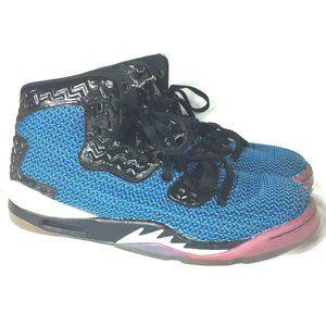 Nike Air Jordan 5 Spike 40 Forty BG Sz 5.5Y Blue